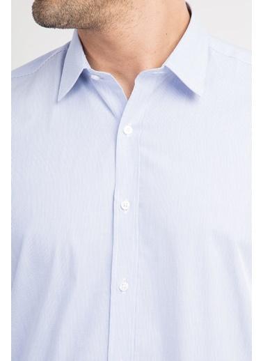 Slim Fit Uzun Kollu Gömlek-Kiğılı
